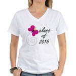 Class Of 2015 Women's V-Neck T-Shirt