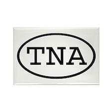 TNA Oval Rectangle Magnet