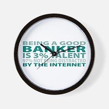 Good Banker Wall Clock
