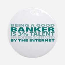 Good Banker Ornament (Round)