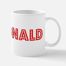 Retro Mcdonald (Red) Mug