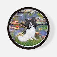Lilies (#2) & Papillon Wall Clock