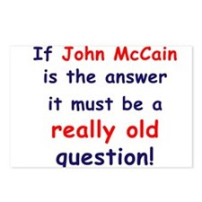 Cool Anti john mccain Postcards (Package of 8)