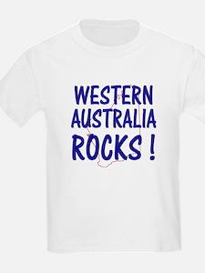 Western Australia Rocks ! Kids T-Shirt