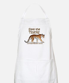 Save The Tigers BBQ Apron