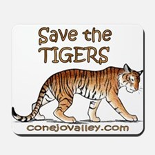 Save The Tigers Mousepad