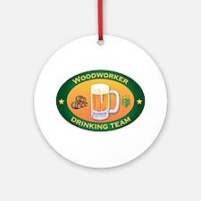 Woodworker Team Ornament (Round)