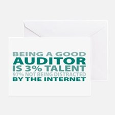Good Auditor Greeting Card