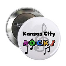 "Kansas City Rocks 2.25"" Button"
