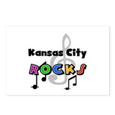Kansas City Rocks Postcards (Package of 8)