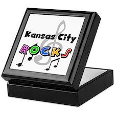 Kansas City Rocks Keepsake Box