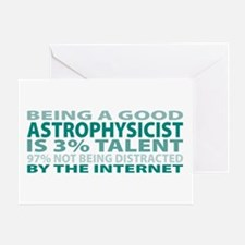 Good Astrophysicist Greeting Card