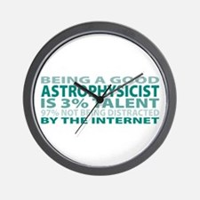 Good Astrophysicist Wall Clock