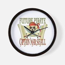 Captain Marshall Wall Clock