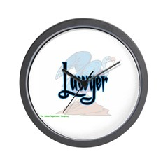 Lawyer Vulture Wall Clock