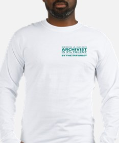 Good Archivist Long Sleeve T-Shirt