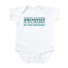 Good Archivist Infant Bodysuit