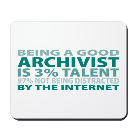 Good Archivist Mousepad