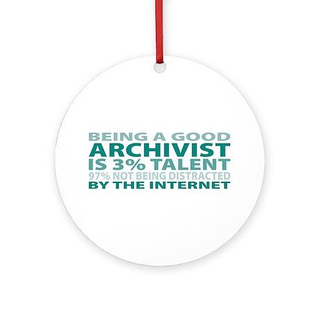Good Archivist Ornament (Round)