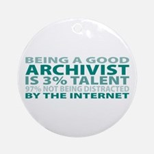 Good Archivist Ornament (Round)