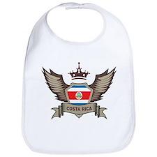 Costa Rica Emblem Bib
