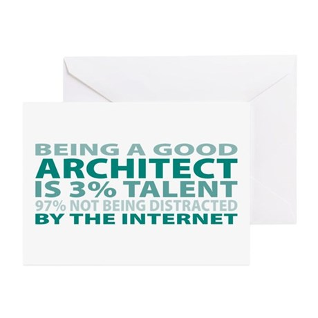 Good Architect Greeting Cards (Pk of 20)
