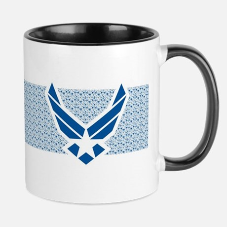 Air Force Logo Collage Mug Mug