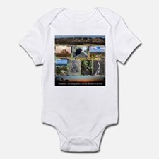 Real Tasmania Infant Bodysuit