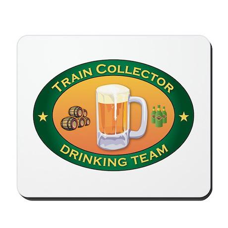 Train Collector Team Mousepad