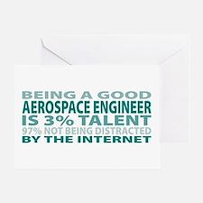 Good Aerospace Engineer Greeting Card