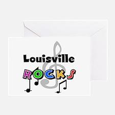 Louisville Rocks Greeting Card