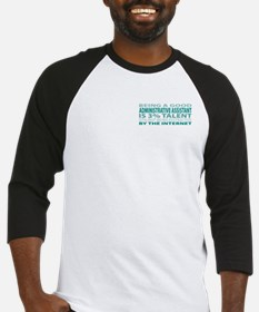 Good Administrative Assistant Baseball Jersey