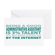 Good Administrative Assistant Greeting Card