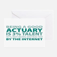 Good Actuary Greeting Card