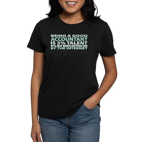 Good Accountant Women's Dark T-Shirt