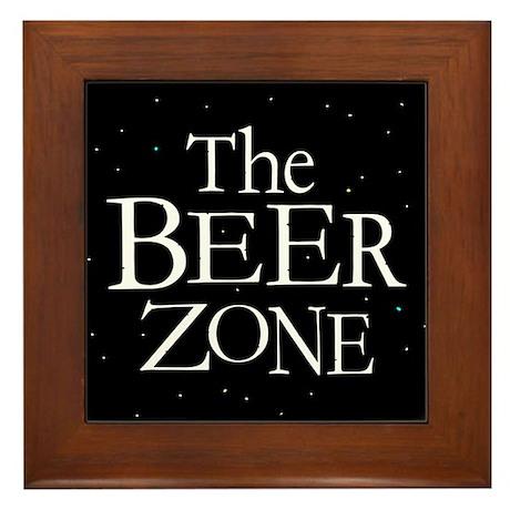 THE BEER ZONE Brew Lover Framed Tile