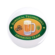 """Surgical Technology Team 3.5"""" Button"""