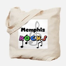 Memphis Rocks Tote Bag