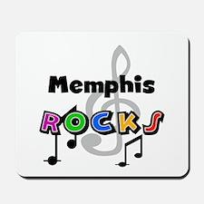 Memphis Rocks Mousepad