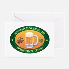 Stamp Collector Team Greeting Card