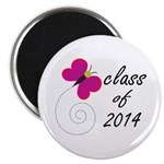 Pretty Class Of 2014 Magnet