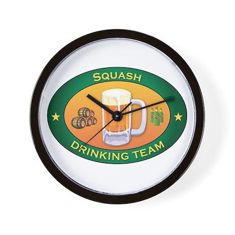 Squash Team Wall Clock
