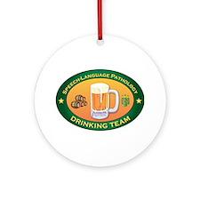 Speech-Language Pathology Team Ornament (Round)