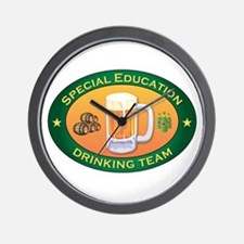 Special Education Team Wall Clock