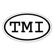 TMI Oval Oval Decal