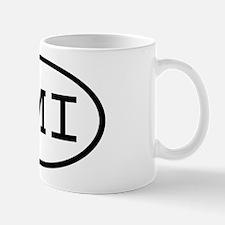 TMI Oval Mug