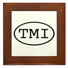 TMI Oval Framed Tile