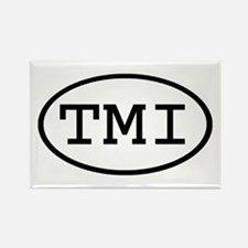 TMI Oval Rectangle Magnet