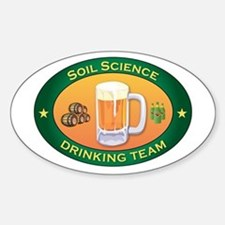 Soil Science Team Oval Decal