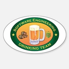 Software Engineering Team Oval Decal